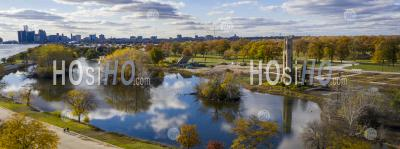 Belle Isle State Park - Detroit - Aerial Photography