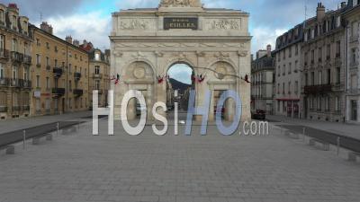Memorial Desilles - Nancy - Video Drone Footage