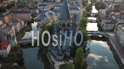 Temple Neuf - Metz - Video Drone Footage