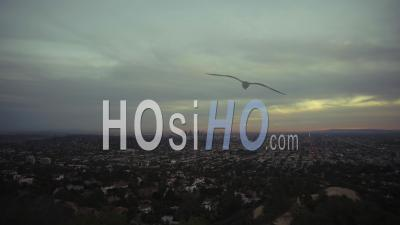 Timelapse De Jour En Nuit De Los Angeles, Californie En 4k