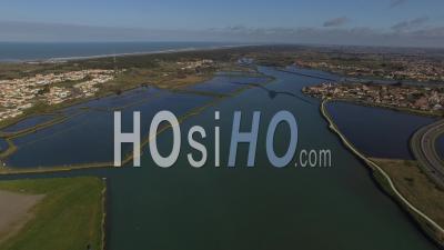 Marais Salants Des Sables D'olonnes - Vidéo Drone