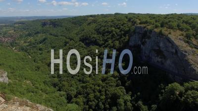 Cirque D'autoire Vidéo Drone En été