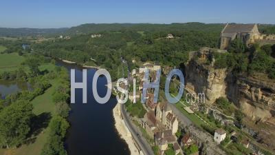 Beynac And Cazenac - Video Drone Footage
