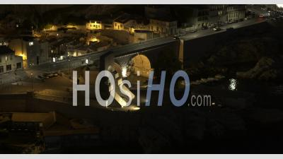 Marseille, Vallon Des Auffes, De Nuit En 6k - Vidéo Drone