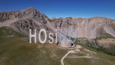 Fort De Lenlon, Hautes-Alpes, France, Vidéo Par Drone