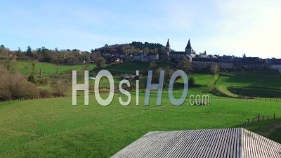 Bénévent L'abbaye, Vidéo Drone