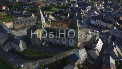 Benevent Abbey - Video Drone Footage