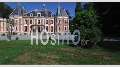 Chateau De Walmath Or Valmate - Video Drone Footage