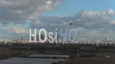 La Défense Côté Ouest, Vidéo Drone