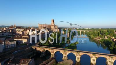 Aerial Video Drone Footage Albi