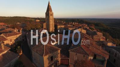 Aerial Video Drone Footage Puycelsi.