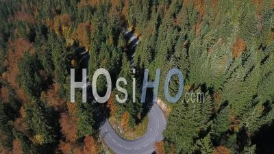 Route De Passy Plaine Joux - Video Drone Footage