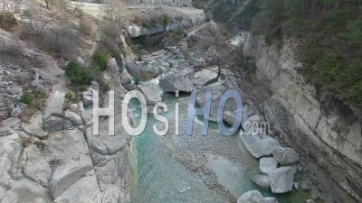 Gorges De La Méouge Vidéo Drone