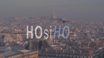 Paris Montmartre Vidéo Drone