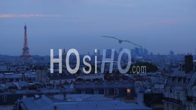Tour Eiffel Le Soir, Vidéo Drone