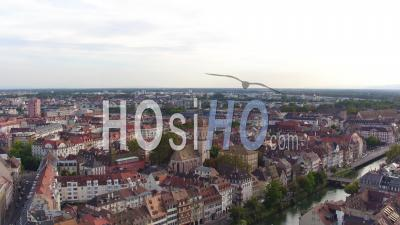Panorama Centre-Historique De Strasbourg, Vidéo Drone