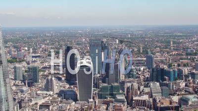 City Of London And Shard, London