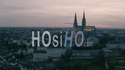 Notre-Dame-De-Chartres, Vidéo Drone