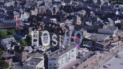City Of Etretat - Video Drone Footage