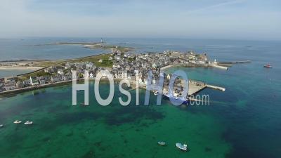 Ile De Sein, Bretagne, Vidéo Drone