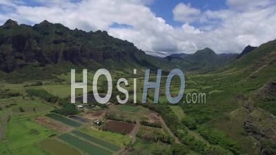 Kaaawa Valley, Windward, Hawaii - Vu Par Drone