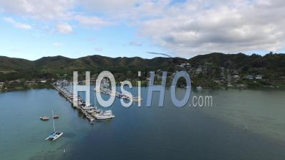 Kaneohe Yacht Club,  Kaneohe Bay, Hawaii - Drone Point Of View