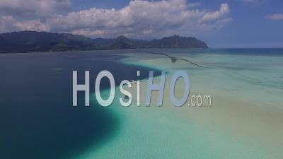 Kaneohe Bay, Hawaii - Video Drone Footage