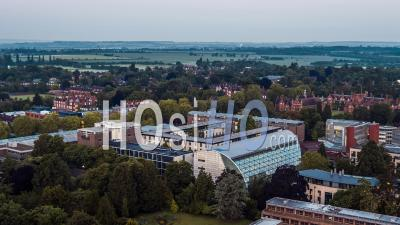 Sidgwick Site, University Of Cambridge, Cambridge Seen By Drone