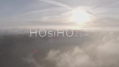 Clouds Filmed By Drone