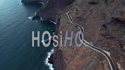 Route Côtière De Punta De Teno, Vidéo Drone