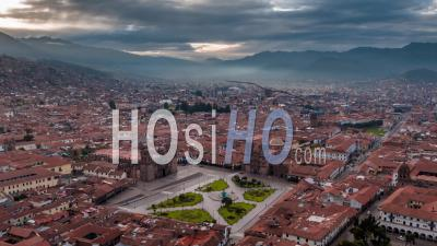 Cusco, Peru - Video Drone Footage