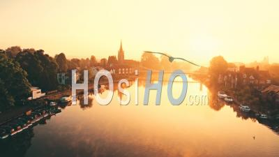 Morning In Marlow - Video Drone Footage