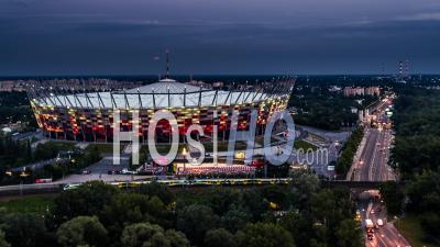 Stade Pge Narodowy, Pont Swietokrzyski, Praga, Varsovie